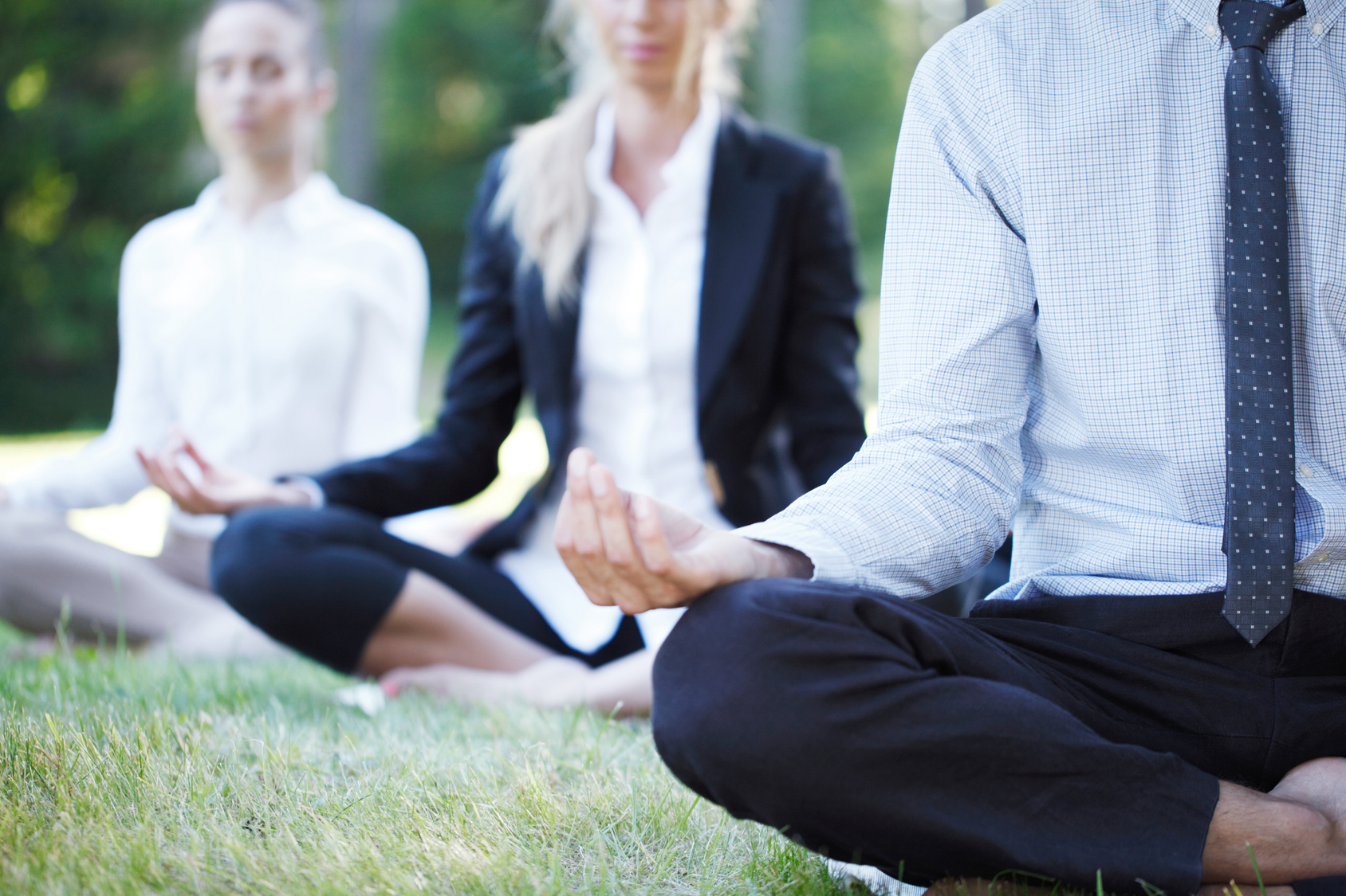 Yoga im Betrieb