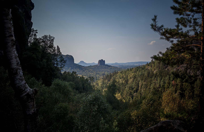 Basenfasten, Wandern und Yoga im Elbsandsteingebirge