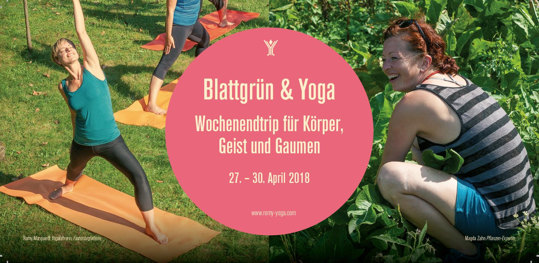 Blattgrün Und Yoga